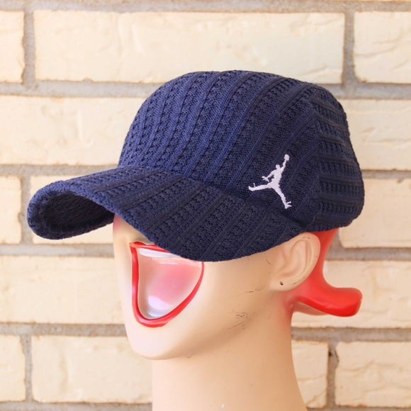 f972bad721b Jordan Other - Jordan Jumpman Polyester Knit Hat Logo Navy S M